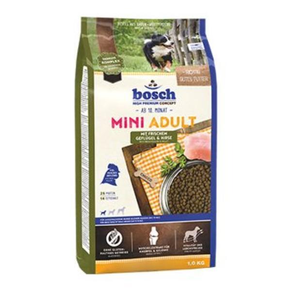 bosch dog adult mini dr be proso 1kg. Black Bedroom Furniture Sets. Home Design Ideas