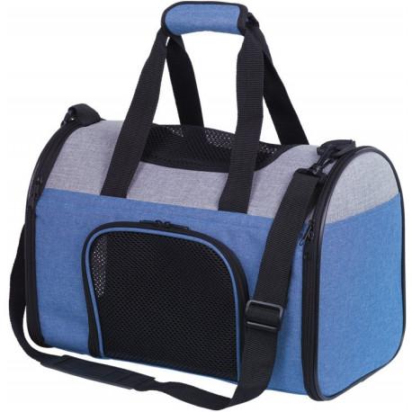 Nobby přepravní taška JANU do 6kg modrá 41 x 24 x 29 cm