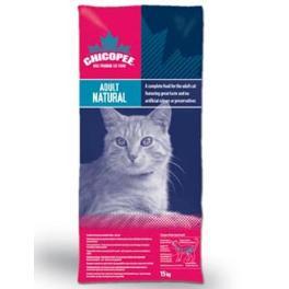 Chicopee kočka Dry Adult Natural 15kg