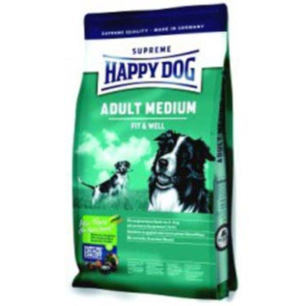happy dog supreme fit well adult medium 4kg. Black Bedroom Furniture Sets. Home Design Ideas