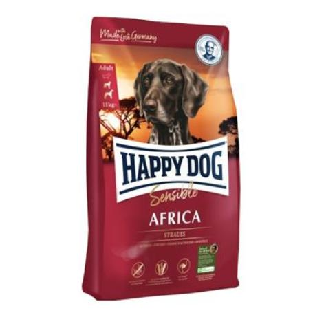 Happy Dog Supreme Sensible AFRICA pštros 4kg + Sleva 5% od 2ks