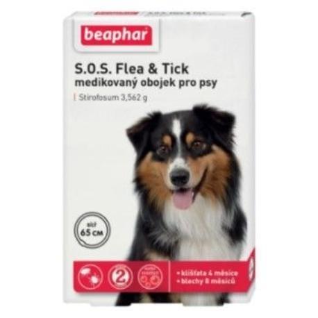 Beaphar Obojek antipar. pes SOS Flea & Tick 65 cm