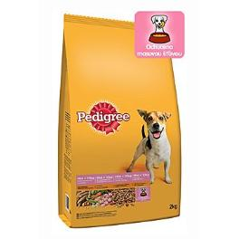 Pedigree Dry Adult Mini drůbež a zelenina 12kg