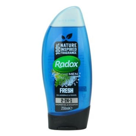 Radox sprchový gel Men 2v1 Sea Minerals 250ml