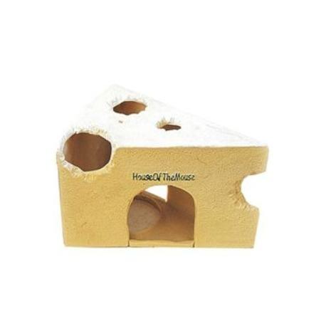 Domek pro hlodavce plastový sýr