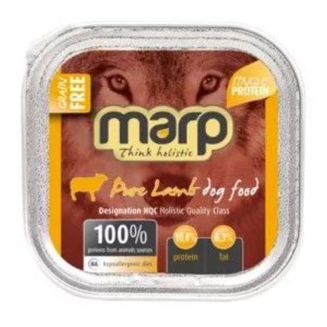 Marp vanička pro psy Lamb s jehněčím 100g