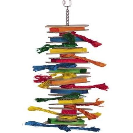 Nobby aktivní hračka pro papoušky 60 x 17 cm
