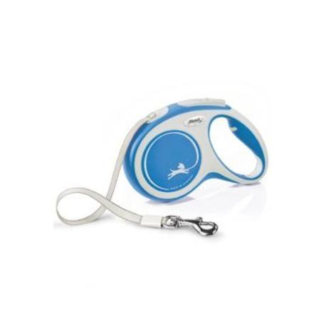 Vodítko FLEXI Comfort M pásek 5m/25kg modrá NEW