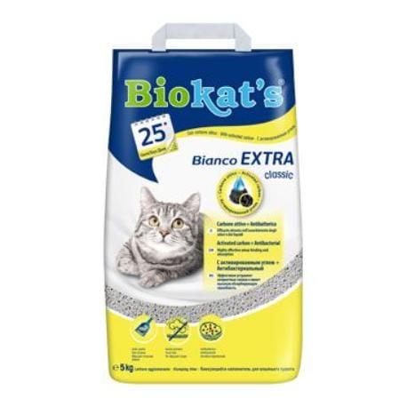 Podestýlka Biokat's BIANCO Extra 5kg