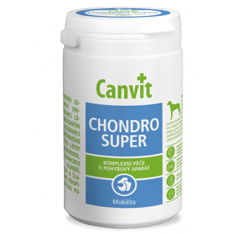 Canvit Chondro Super pro psy ochucené 500g new