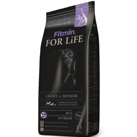 Fitmin Dog For Life Light & Senior 2 x 15kg