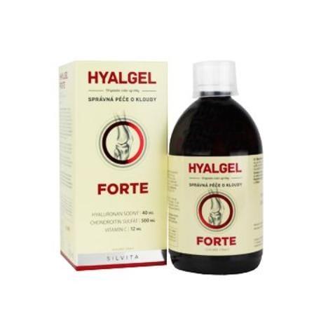 Hyalgel Forte na klouby pomeranč 500ml