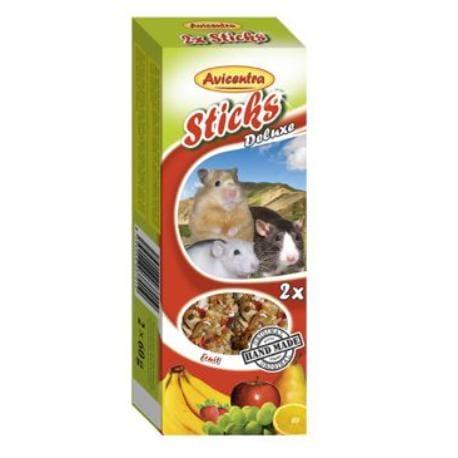 Avicentra tyčinky malý hlodavec - ovoce+med 2ks