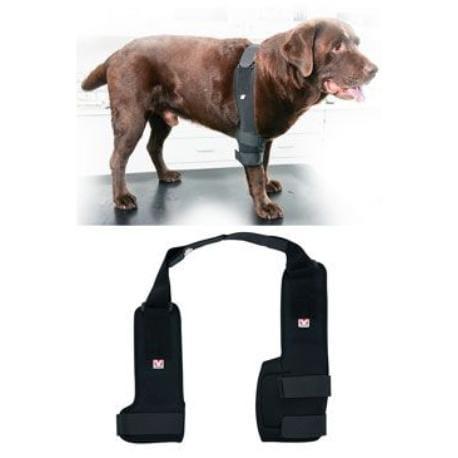 Bandáž Rehab Pro na loket pro psa KRUUSE S levá