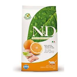 N&D GF CAT Adult Fish & Orange 1,5kg