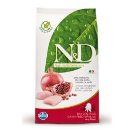 N&D GF DOG Puppy Maxi Chicken & Pomegr 12kg + Sleva 5% od 2ks