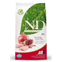 N&D GF DOG Puppy S/M Chicken & Pomegr 2,5kg