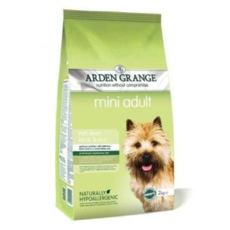 Arden Grange Dog Adult Lamb Mini 2 kg