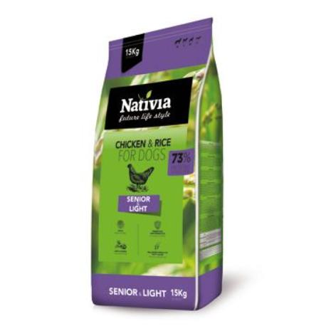 Nativia Dog Senior&Light 3kg