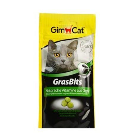 Gimpet kočka Tablety GrasBits s kočičí trávou 40g