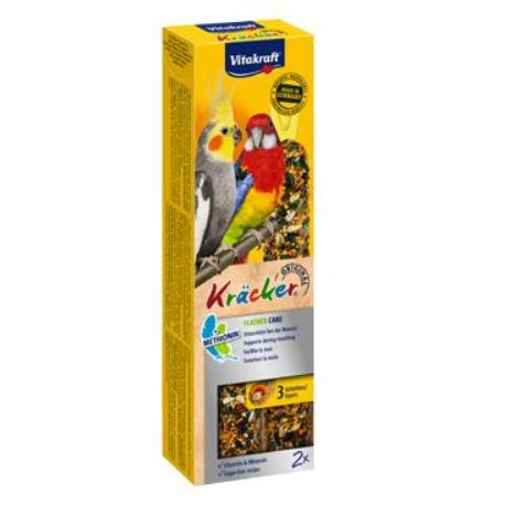 Vitakraft Bird Kräcker moulting korela/papouš. tyč 2ks