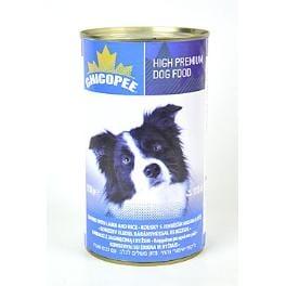Chicopee pes konzerva jehněčí kostky s rýží 1230g