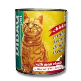 Dibaq Pet kočka konz. Drůbeží 810g