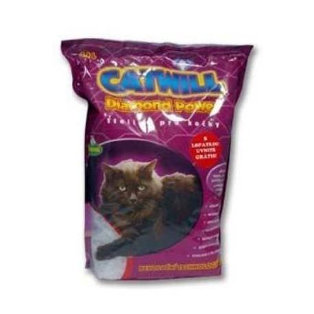 Podestýlka Catwill Diamond Power kočka pohlc. pach 10l