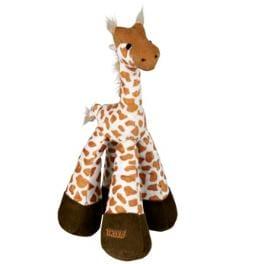 Hračka pes Žirafa pískací plyšová 33cm TR