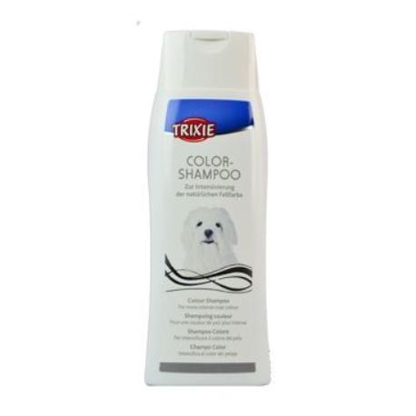 Šampon Color tónovací bílá srst pes Trixie 250ml