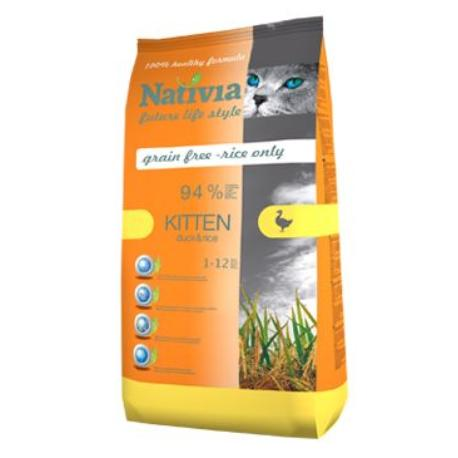 Nativia Cat Kitten 10kg + Sleva 5% od 2ks