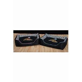 Pelech Snoozzzeee Candy Stripe sofa 81cm růžový 1ks + VÝPRODEJ