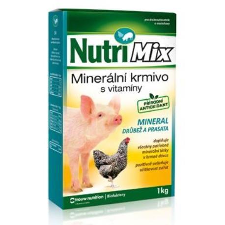 Biofaktory Nutri Mix pro prasata a drůbež Mineral 1kg