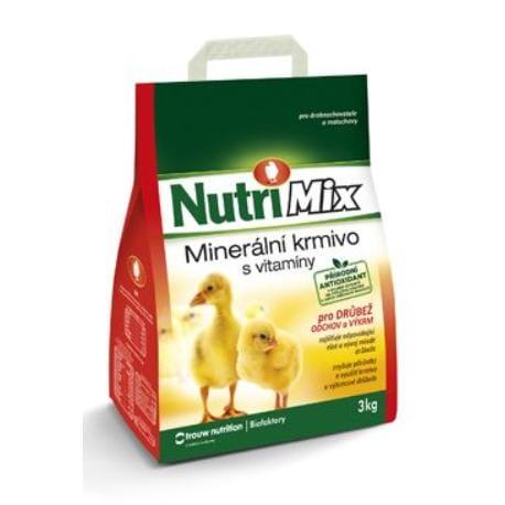 Biofaktory Nutri Mix pro drůbež výkrm a odchov plv 3kg