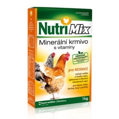 Biofaktory Nutri Mix pro nosnice plv 1kg