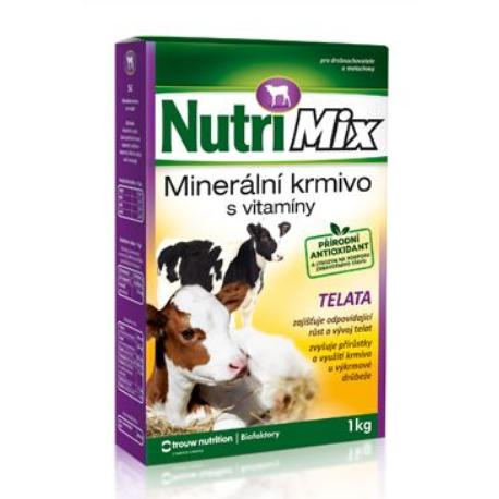 Biofaktory Nutri Mix pro telata plv 1kg