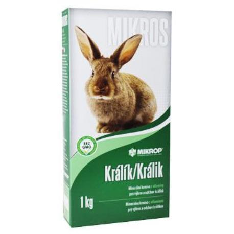 Mikros K pro králíky plv 1kg
