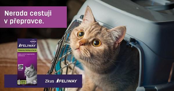 Feliway Sprej pro zklidnění koček