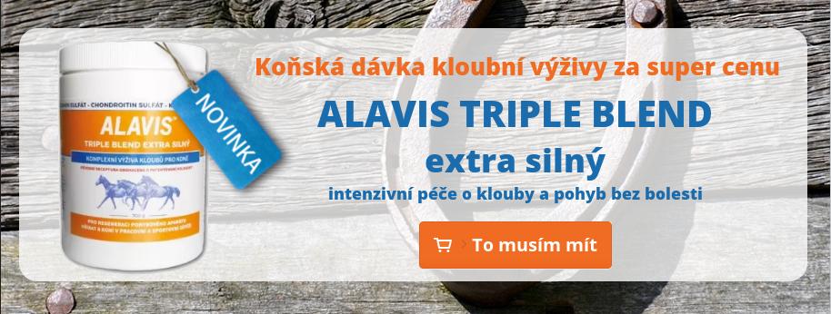 Koňský Alavis Triple Blend Extra Silný