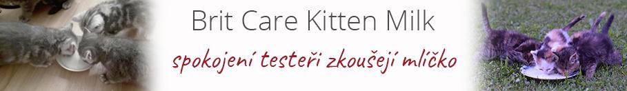 Recenze Brit Care Cat Kitten Milk