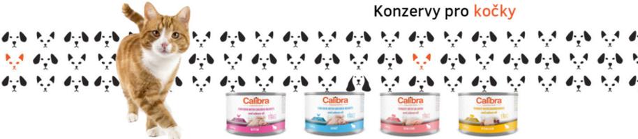 Calibra konzervy pro kočky