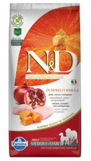 N&D Grain Free DOG Adult Fish & Orange 12kg