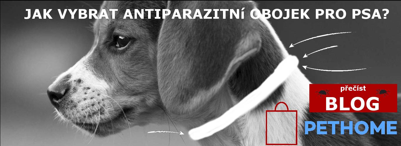 BLOG jak vybrat antiparazitní obojek pro psa