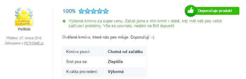 Brit Care recenze