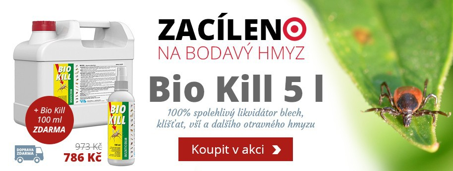 Bio Kill 5l + Bio Kill 100 ml ZDARMA