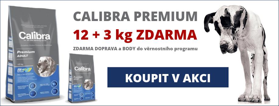 AKCE Calibra Premium 12kg + 3kg ZDARMA