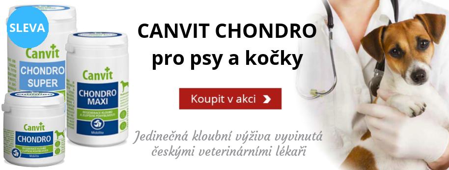 Canvit Chondro pro psy i kočky s extra slevou