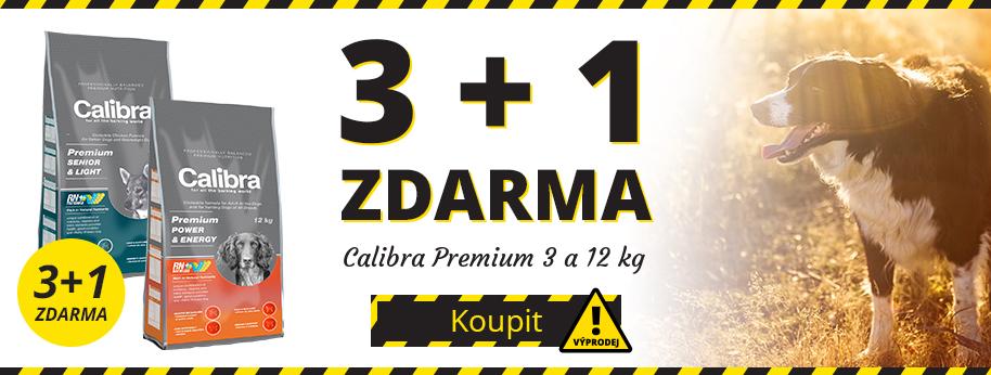 Výprodej Calibra Premium 3 + 1 ZDARMA