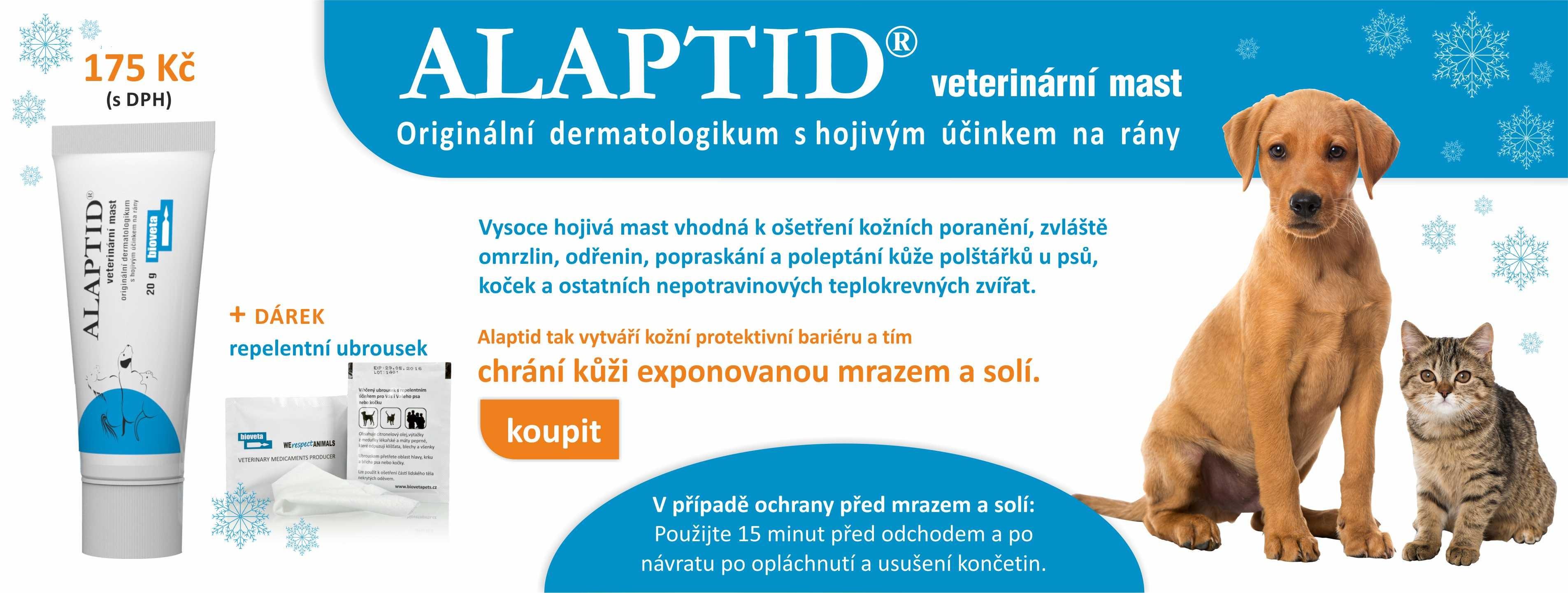 NOVINKA Alaptid + repelentní ubrousek