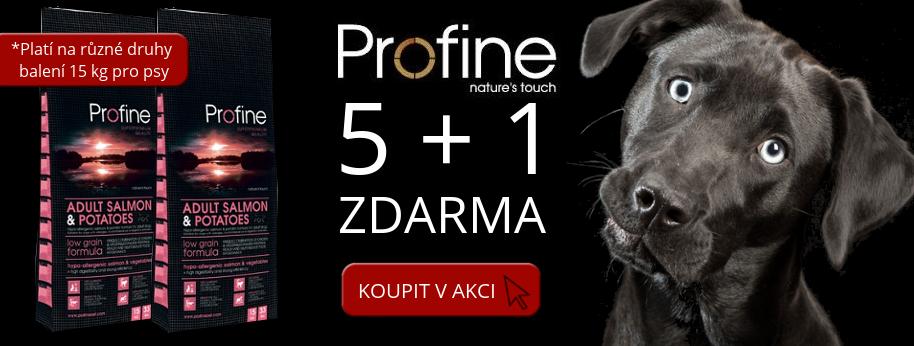 Profine dog 15 kg AKCE 5+1 zdarma